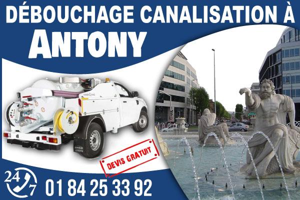 debouchage-canilisation-Antony