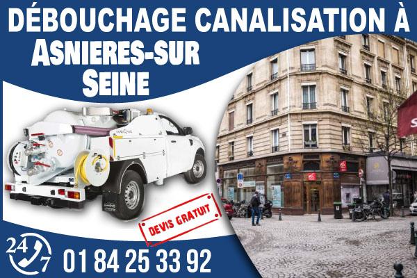 debouchage-canilisation-Asnieres-sur-Seine