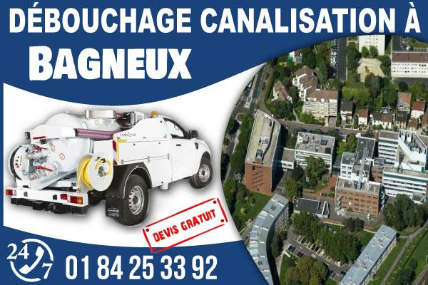 debouchage-canilisation-Bagneux