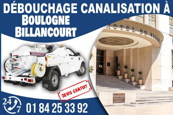debouchage-canilisation-Boulogne-Billancourt