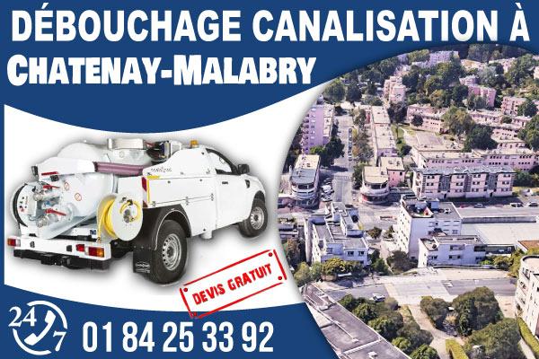 debouchage-canilisation-Chatenay-Malabry
