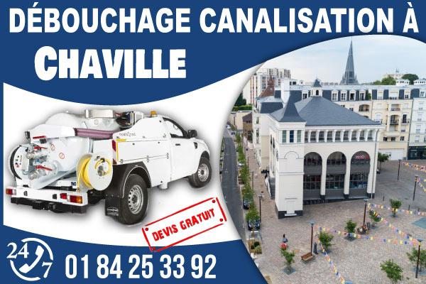debouchage-canilisation-Chaville
