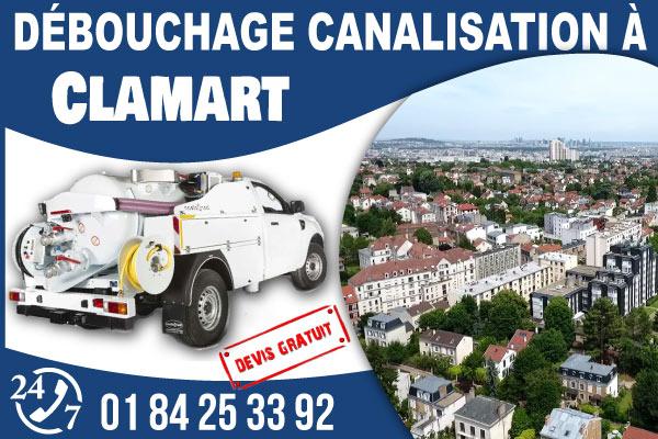debouchage-canilisation-Clamart