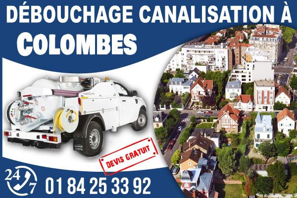 debouchage-canilisation-Colombes