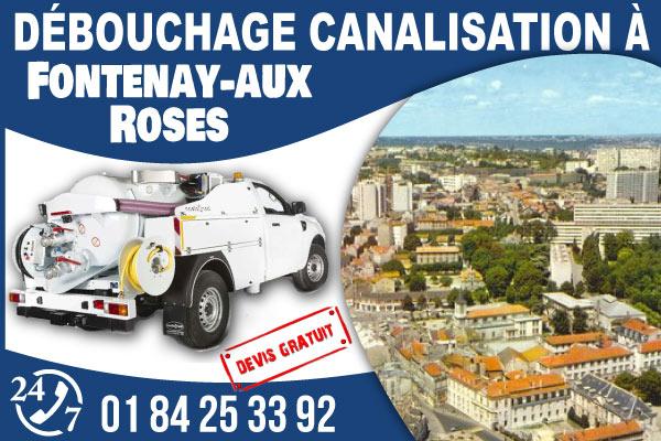 debouchage-canilisation-Fontenay-aux-Roses