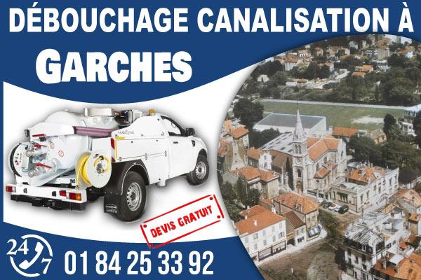debouchage-canilisation-Garches