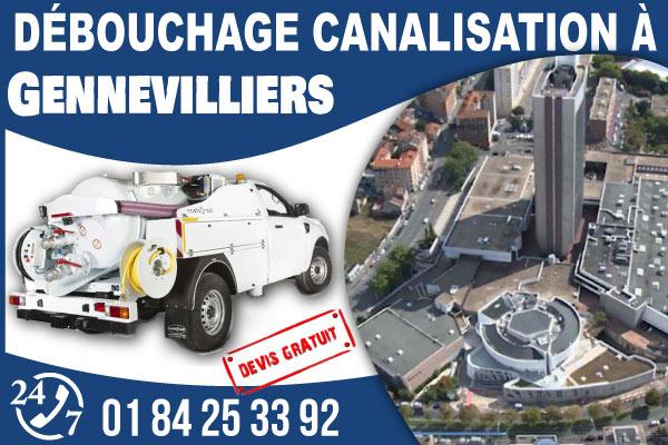 debouchage-canilisation-Gennevilliers