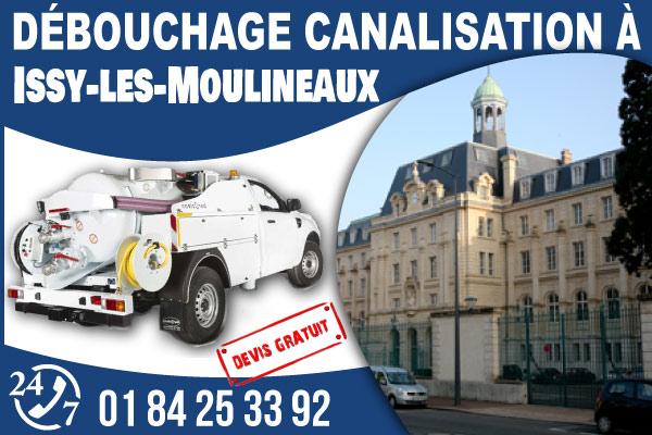 debouchage-canilisation-Issy-les-Moulineaux