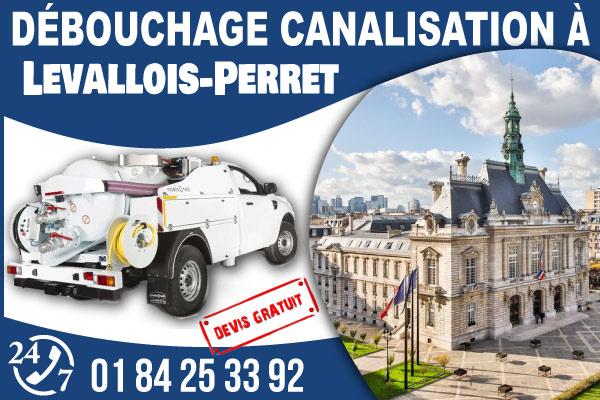 debouchage-canilisation-Levallois-Perret