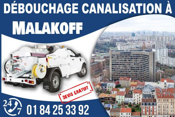 debouchage-canilisation-Malakoff