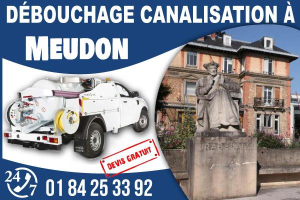 debouchage-canilisation-Meudon