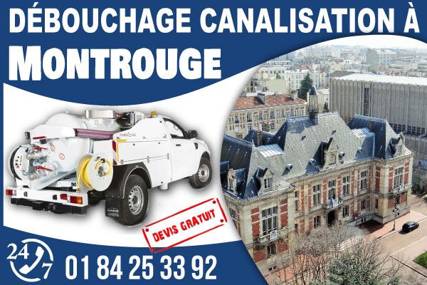 debouchage-canilisation-Montrouge