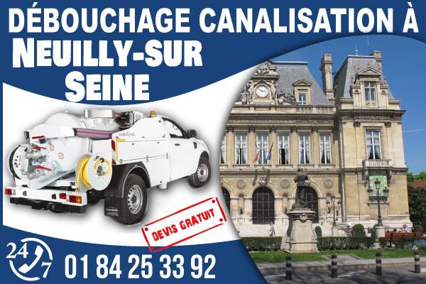 debouchage-canilisation-Neuilly-sur-Seine