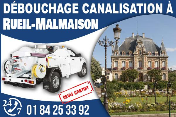 debouchage-canilisation-Rueil-Malmaison