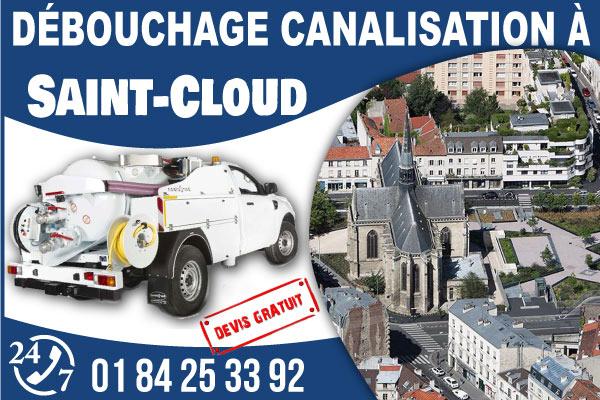 debouchage-canilisation-Saint-Cloud