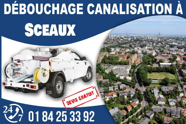 debouchage-canilisation-Sceaux