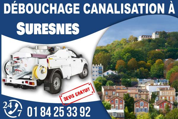 debouchage-canilisation-Suresnes