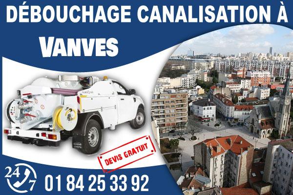 debouchage-canilisation-Vanves