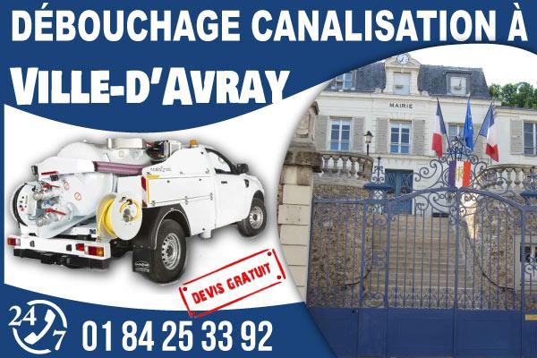 debouchage-canilisation-Ville-dAvray