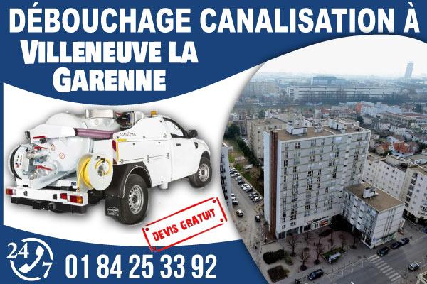 debouchage-canilisation-Villeneuve-la-Garenne